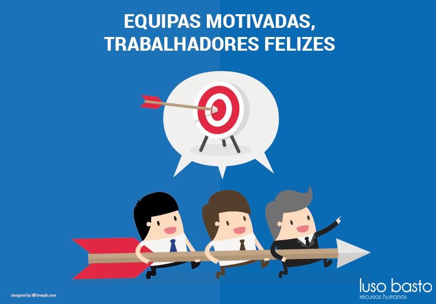 equipas motivadas